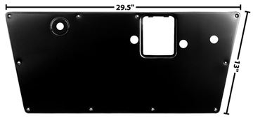 Picture of DOOR INNER PANEL RH 66-77 : 3719D BRONCO 66-77