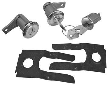 Picture of LOCK KIT IGNITION AND DOOR 1965-66 : CL-4877 BRONCO 66-77