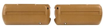 Picture of ARM REST BASE IVY GOLD PAIR 68-69 : M1040D CAMARO 68-69
