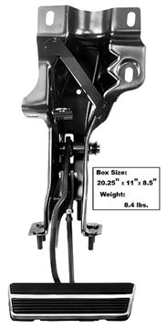 Picture of BRAKE PEDAL ASSEMBLY-AUTO TRANS : 1006PB CAMARO 69-69