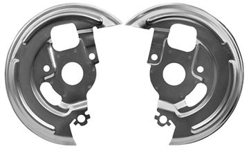 Picture of BRAKE/DISC BACKING PLATE 70-81 PAIR : 1006H CAMARO 70-81