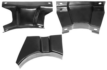 Picture of CONSOLE MOUNTING BRACKET 70-72 3PCS : 1001F CAMARO 70-72