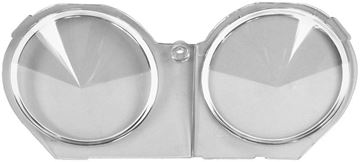 Picture of DASH CARRIER LENS ASSEMBLY 1968 : 6481576 CAMARO 68-68