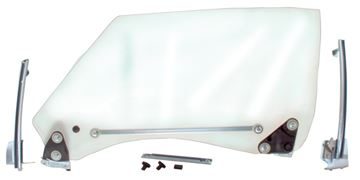 Picture of DOOR GLASS ASSEMBLY LH 1968-69 : 1076FX CAMARO 68-69