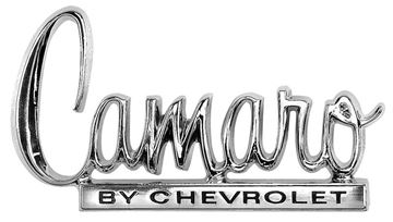 Picture of EMBLEM 70 TRUNK CAMARO BY CHEVY : EM6836 CAMARO 70-70