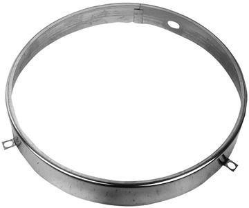 Picture of HEADLAMP RETAINER RING 62-78 PU : M1016 CAMARO 67-73