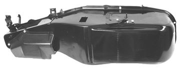 Picture of HEATER CASE ASSEMBLY **NON A/C** : 1041R CAMARO 68-69