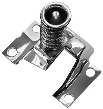 Picture of HOOD SAFETY LATCH 67-73 CHROME : 1068QC CAMARO 67-73