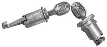 Picture of LOCK KITS TRUNK & GLOVEBOX : 122 CAMARO 68-68