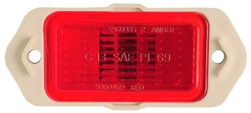 Picture of MARKER LAMP REAR 69 : 916847 CAMARO 69-69
