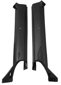 Picture of MOLDING PILLAR POST 67 CONVT. BLACK : K903 CAMARO 67-67