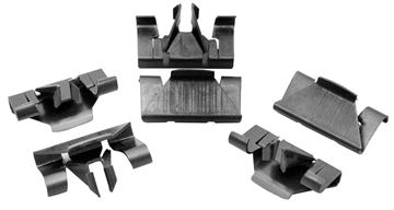 Picture of MOLDING WELL CLIP CONVERTIBLE 67-69 : M1041A CAMARO 67-69