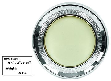 Picture of QUARTER LIGHT ASSY 62-66 IMPALA 2DR : L1700 CAMARO 67-67