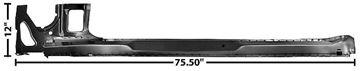 Picture of ROCKER PANEL RH 67-69 COUPE : 1067GA CAMARO 67-69