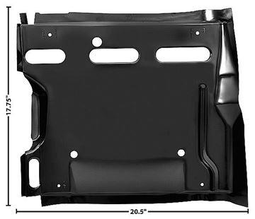 Picture of SEAT PLATFORM LH 1967-68 : 1052B CAMARO 67-68