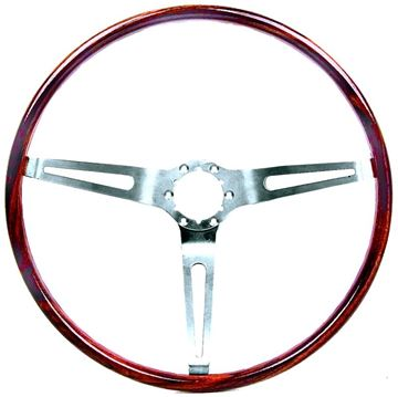 Picture of STEERING WHEEL WALNUT (SIMULATED) : 9746195 CAMARO 67-68