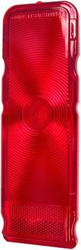 Picture of TAIL LAMP LENS 67 STD RED LENS : 5959294 CAMARO 67-67