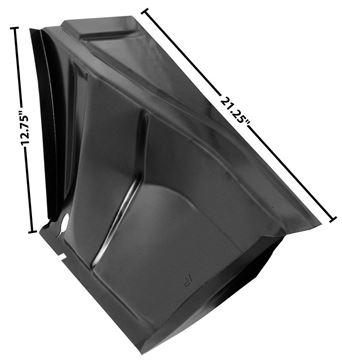 Picture of TRUNK FLOOR DROP OFF RH 67-68 : 1048T CAMARO 67-68