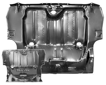 Picture of TRUNK FLOOR PAN FULL 1968 : 1046BB CAMARO 68-68