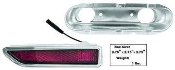 Picture of MARKER LAMP/REAR RH 70-71 RED : L82 CHALLENGER 70-71