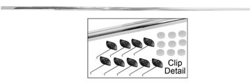 Picture of MOLDING TRUNK LID 70 CHALLENGER : M6070 CHALLENGER 70-70