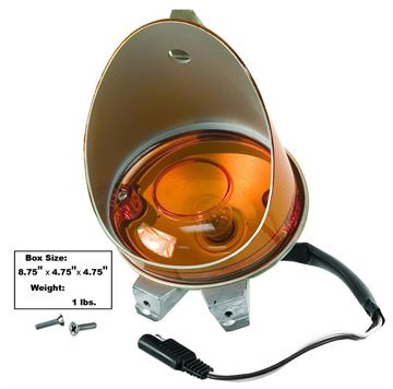 Picture of PARK LAMP RH 70-74 AMBER : L84 CHALLENGER 70-74