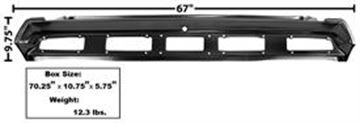 Picture of TAIL LAMP PANEL 1970 CHALLENGER : 6083 CHALLENGER 70-70