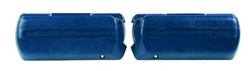 Picture of ARM REST BASE DARK BLUE PAIR 68-69 : M1040F CHEVELLE 68-72