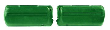 Picture of ARM REST BASE DARK GREEN PAIR 68-69 : M1040G CHEVELLE 68-72