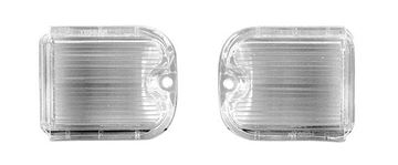 Picture of BACKUP LAMP LENS 66 PAIR CHEVELLE : TU66AN CHEVELLE 66-66