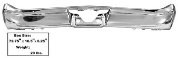 Picture of BUMPER REAR 66 CHEVELLE : 1460BX CHEVELLE 66-66