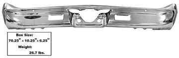 Picture of BUMPER REAR 67 : 1460DX CHEVELLE 67-67