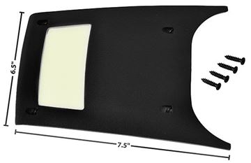 Picture of CONSOLE REAR LIGHT PANEL 68-72 : 1498Z CHEVELLE 68-72
