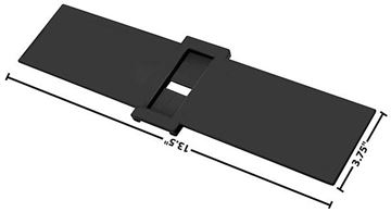 Picture of CONSOLE SLIDER 68-69 4 SPEED : 1498X CHEVELLE 68-69
