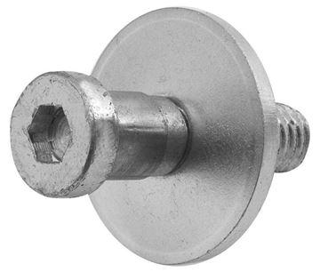 Picture of DOOR LOCK STRIKER : 1076FE CHEVELLE 64-72