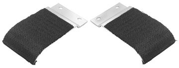 Picture of DOOR WINDOW GUIDE PLATE 68-72 PAIR : 1485Y CHEVELLE 68-72