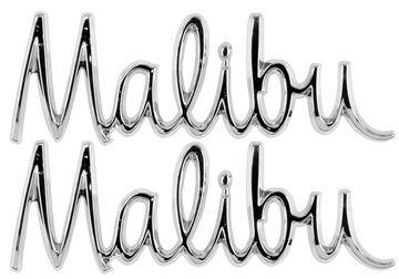 Picture of EMBLEM FENDER MALIBU PAIR 68 : EM4530 CHEVELLE 68-68