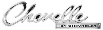 Picture of EMBLEM TRUNK CHEVELLE BY CHEVORLET : EM4640 CHEVELLE 69-69