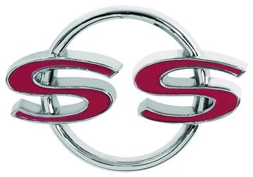 Picture of EMBLEM TRUNK LID SS 64 : EM4005 CHEVELLE 64-64