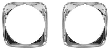 Picture of HEADLAMP BEZEL 1971 **PAIR** : M1398 CHEVELLE 71-71