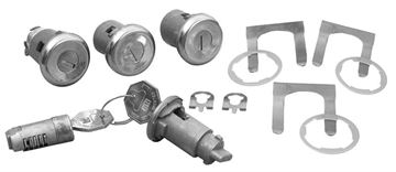 Picture of LOCK KITS : 293 CHEVELLE 66-66