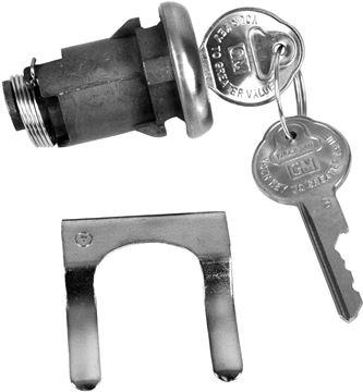 Picture of LOCK TRUNK ORIGINAL : 113A CHEVELLE 67-67