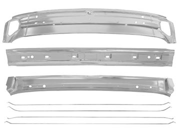 Picture of ROOF BRACE KIT 70-72 7PCS COUPE : 1418AWT CHEVELLE 70-72