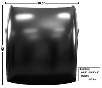 Picture of ROOF PANEL 66-67 : 1417X CHEVELLE 66-67