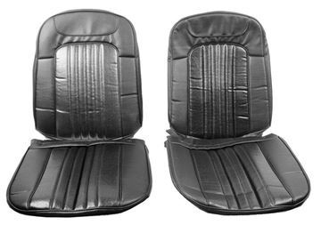 Picture of SEAT COVER 4PC 71/2 BUCKET SEAT : SC71A CHEVELLE 71-72