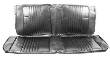 Picture of SEAT COVER REAR 2PC/SET CONV 71-72 : SC71D CHEVELLE 71-72