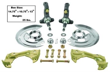 Picture of SPINDLE KIT W/DISC BRAKE HARDWARE : 1003C CHEVELLE 64-72