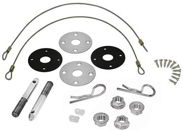 Picture of SS HOOD PIN W/SCREWS 70-72 : 1470A CHEVELLE 70-72
