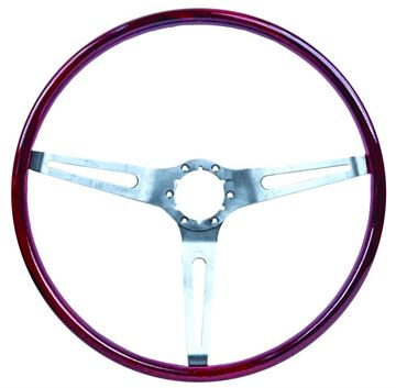 Picture of STEERING WHEEL ROSEWOOD (SIMULATED) : 3960722 CHEVELLE 69-69