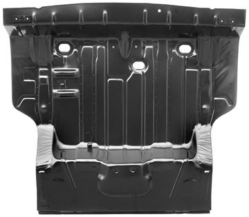 Picture of TRUNK FLOOR COMPLETE 69-WITH BRACES : 1462S CHEVELLE 69-69